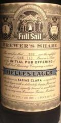 Full Sail Brewer's Share Helles Lager (Farias Clara)