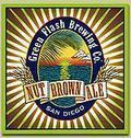 Green Flash Nut Brown Ale