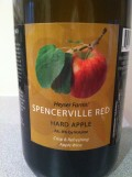 Heyser Farms' Spencerville Red Hard Apple