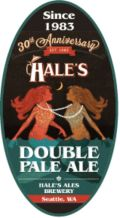 Hale's 30th Anniversary Double Pale Ale