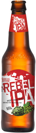 Samuel Adams Rebel IPA (All through 2016)