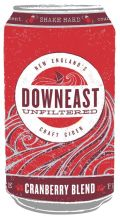 Downeast Cider Cranberry Blend