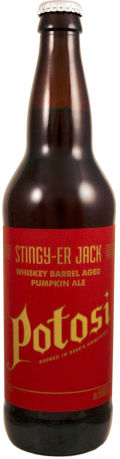 Potosi Stingy-ier Jack Barrel Aged Imperial Pumpkin Ale