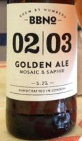 Brew By Numbers 02/03 Golden Ale - Mosaic & Saphir