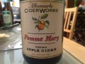 Albemarle Ciderworks Pomme Mary