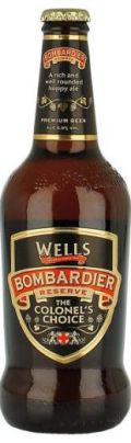 Wells Bombardier Reserve The Colonels Choice