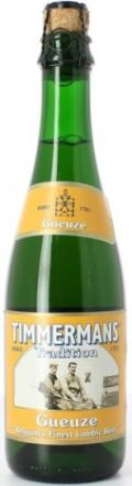Timmermans Tradition Gueuze Lambic