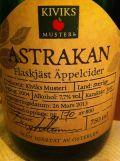 Kiviks Astrakan Flaskjäst Äppelcider