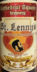 Cathedral Square / He'Brew Immaculate Collaboration: St. Lenny's