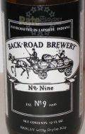 Back Road No. 9 Barleywine