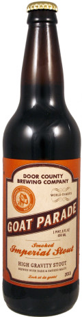 Door County Goat Parade Smoked Imperial Stout