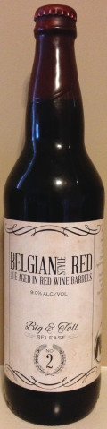 Blue Pants Big & Tall #2: Barrel Aged Belgian Red