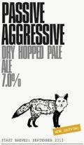 Brassneck Passive Aggressive Pale Ale