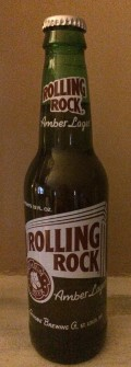 Rolling Rock Amber Lager