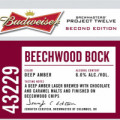 Budweiser Project Twelve - Batch 43229 (Beechwood Bock)