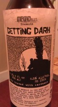 Epic Ales Getting Dark Rye