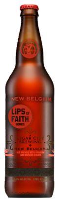 New Belgium / Cigar City Lips of Faith - Anaheim & Marash Chili Ale
