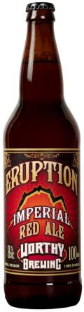 Worthy Eruption Imperial Red Ale