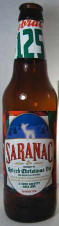 Saranac Rudy's Spiced Christmas Ale