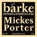 Närke Bärke Mickes Porter