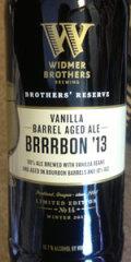Widmer Brothers Reserve Vanilla Barrel Aged Brrrbon