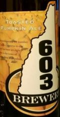 603 Toasted Pumpkin Ale