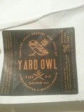 Yard Owl Fire Pit Golden Ale