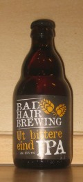 Bad Hair Brewing Ut Bittere Eind IPA
