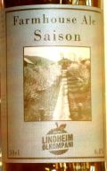 Lindheim Saison Farmhouse Ale