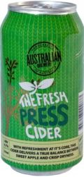 Australian Brewery Fresh Press Cider