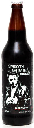 Deep Cove The Crawl Nitrogen Stout (formerly: Smooth Criminal)