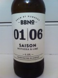 Brew By Numbers 01/06 Saison - Motueka & Lime