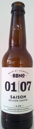 Brew By Numbers 01/07 Saison - Nelson Sauvin