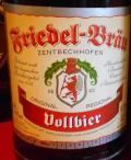 Friedel Zentbechhofen Vollbier