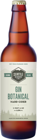 Seattle Cider Gin Botanical