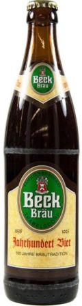Beck Bräu Jahrhundert Bier Dunkel