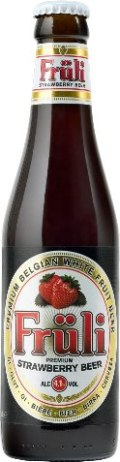Van Diest Früli Strawberry Beer