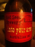 Bad Seed / Revolutions Into Your Arms Aussie Red