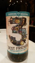 Sudwerk 3 Best Friends Coffee Vanilla Lager