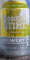 Brewery 85 Quittin' Time Bock
