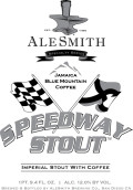 AleSmith Speedway Stout - Jamaica Blue Mountain Coffee