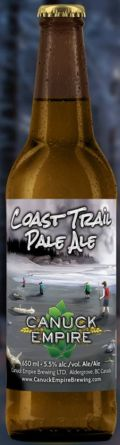 Canuck Empire Coast Trail Pale Ale