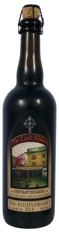 Lost Abbey Bottleworks 15th Anniversary Ale