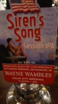 Wychwood / Cigar City Siren's Song Session IPA