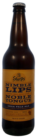 3 Sheeps Nimble Lips Noble Tongue Series  #1: India Pale Ale