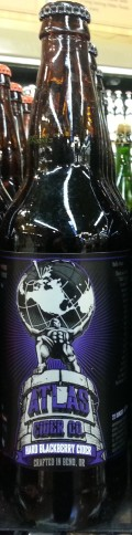 Atlas Hard Blackberry Cider