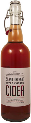 Island Orchard Apple Cherry Cider