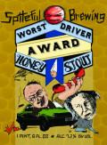Spiteful Worst Driver Award Honey Stout