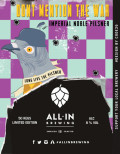 All In Brewing Don't Mention The War Imperial Noble Pilsner