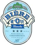 Biere dOlt Blanche